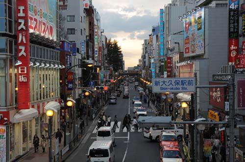 Shin Okubo, visitando Corea sin salir de Tokyo