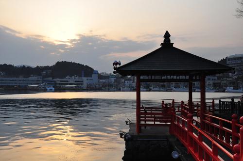 La Ciudad de Kesennuma, antes y después del Tsunami