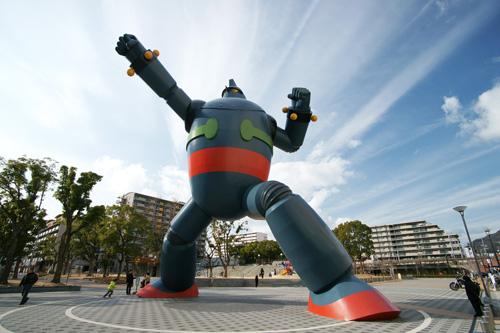 """El Robot protector de Kobe, """"Tetsujin 28-gō"""""""