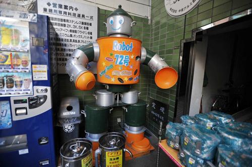 Los Robots de Kappabashi