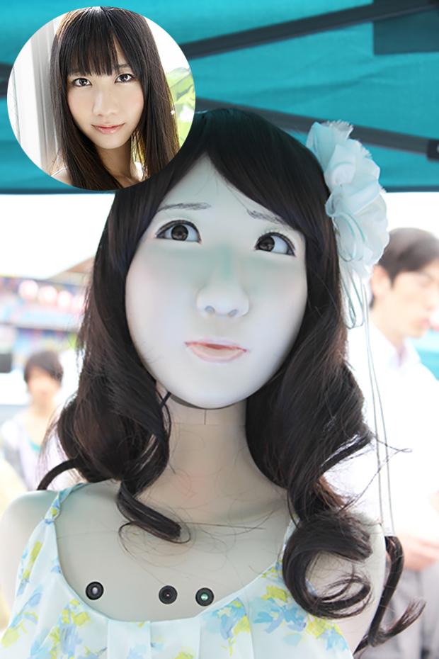 Crean un Androide réplica de la Idol de AKB48, Yuki Kashiwagi